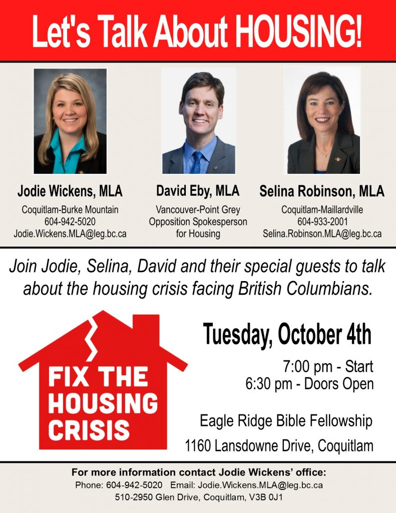 Housing Forum with Jodie and David