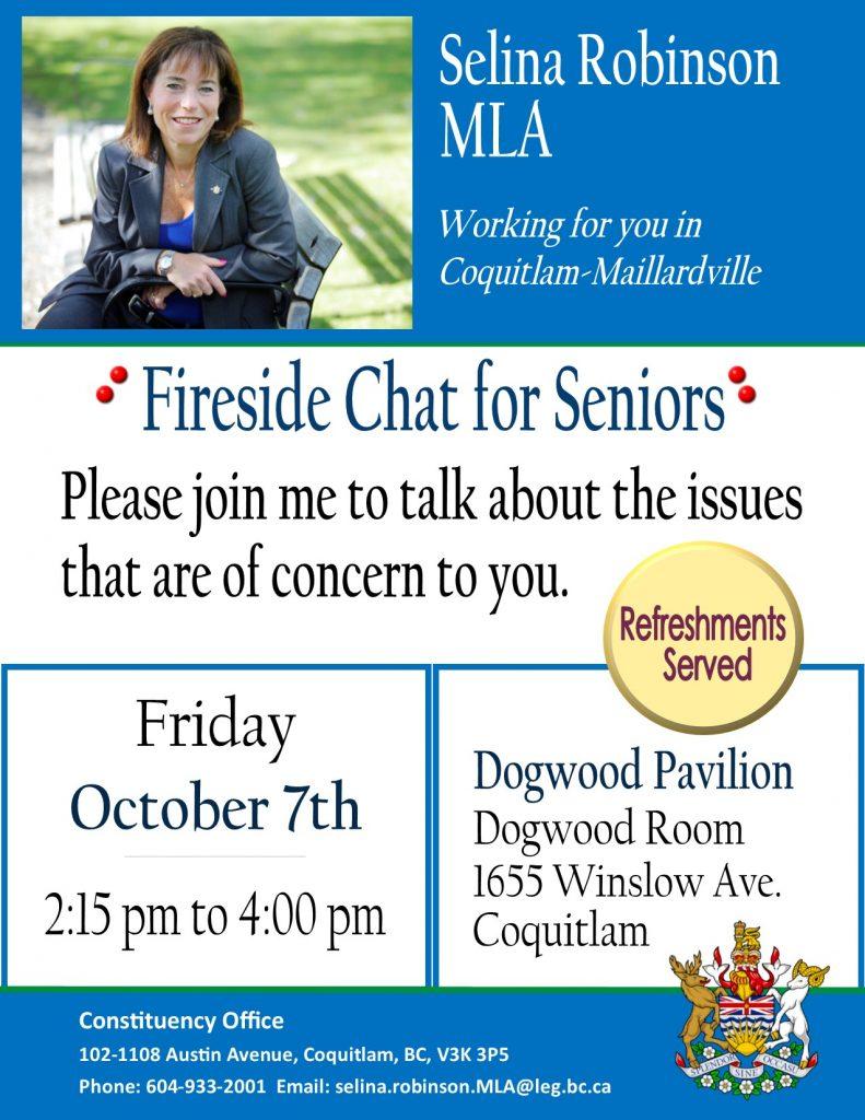 Oct-07-16  Seniors Fireside Chat