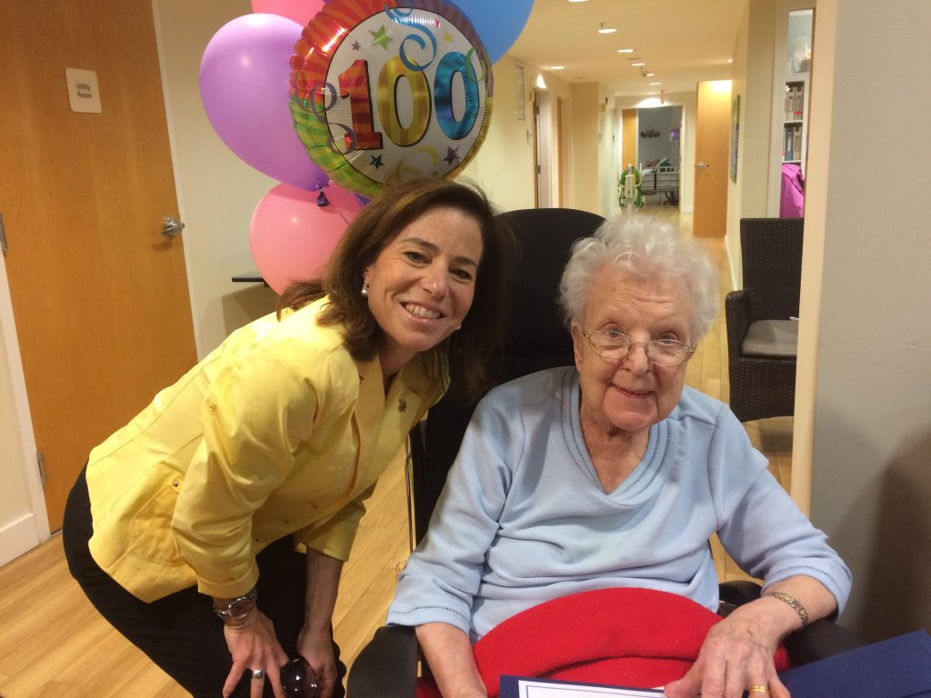 A very special 100th Happy Birthday to Joan Sowden!